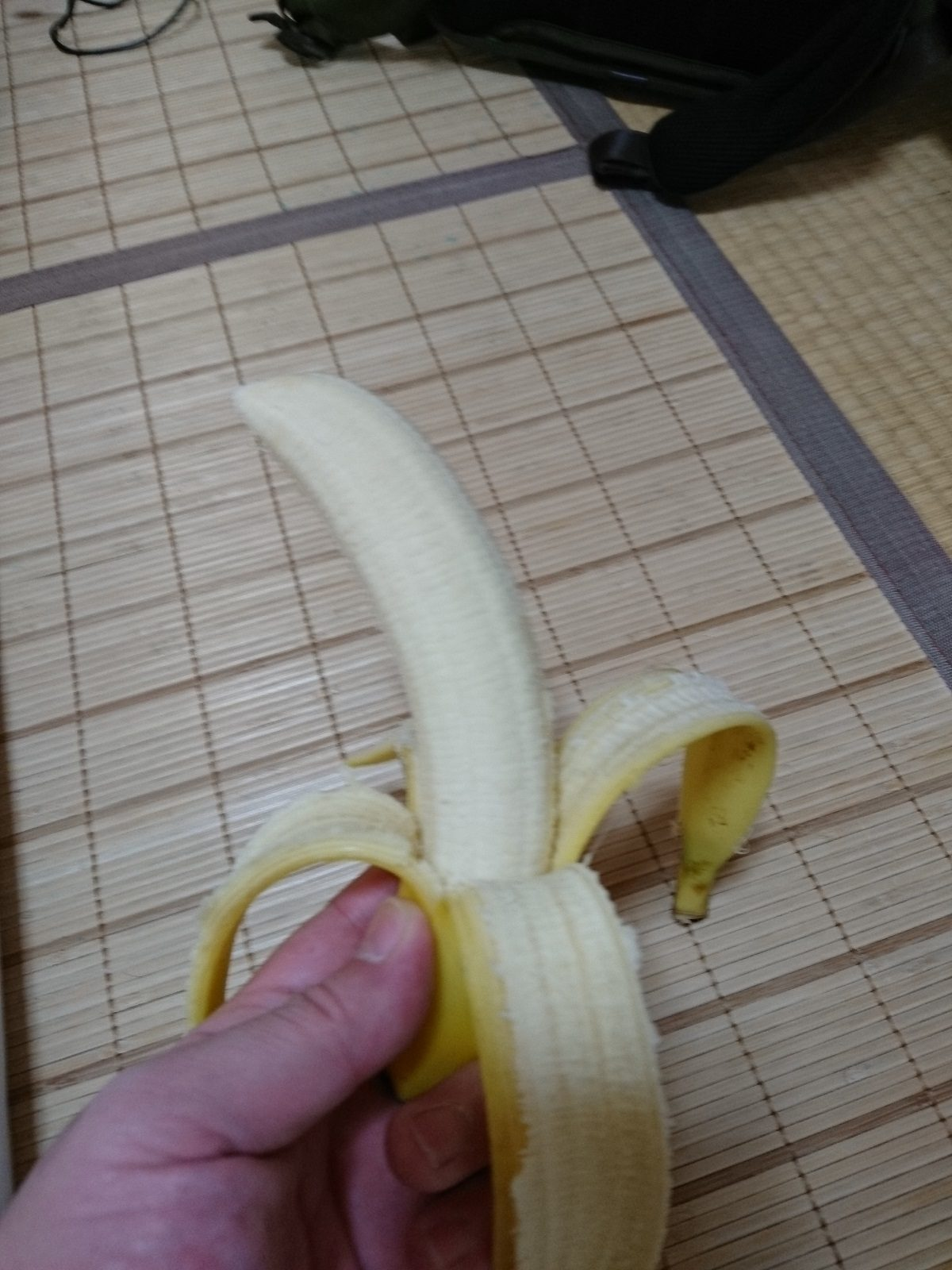 健康に考慮してバナナを食べてみました!?